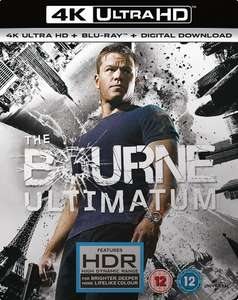 The Bourne Ultimatum (4K Ultra HD + Blu-ray + Digital Download) [UHD] at Zoom for £8.48