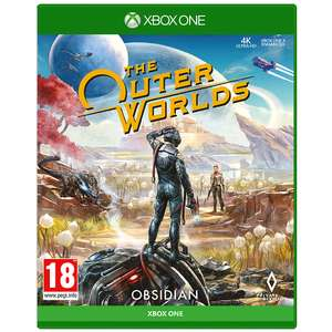 The Outer Worlds Xbox One £22.99 free reserve and collect at GAME