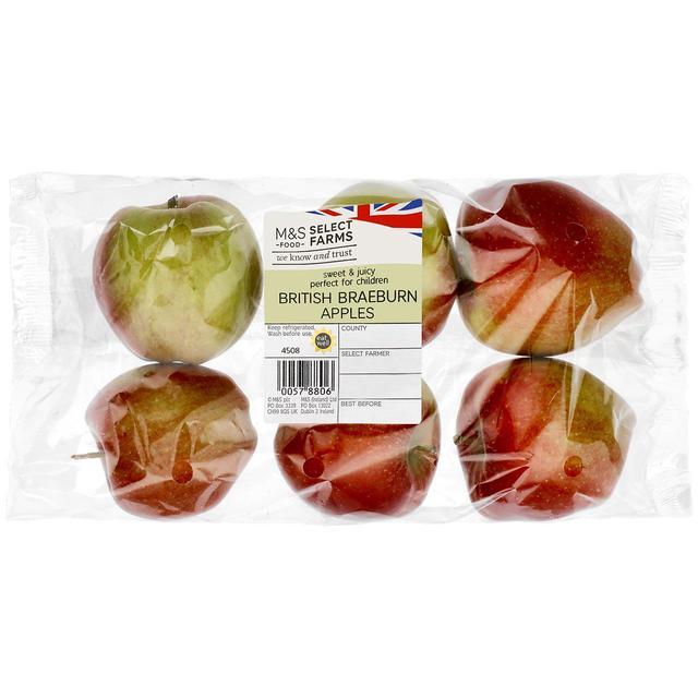 Apple or Nectarine Pack / Corn on the Cob 65p @ M&S