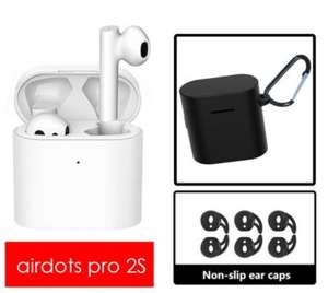 Xiaomi Airdots Pro 2s + box + non-slips ear caps. TWS Bluetooth Headset True Wireless Earphone £42.15 @ AliExpress Hongkong VT Store