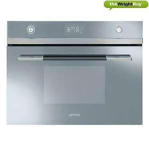 Smeg Linea SF4120VCS Compact Multifunction Steam Oven - £299 @ thewrightbuyltd ebay