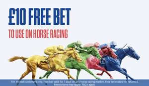 Free £10 Bet to use on Horse Racing @ Coral *Invited Customers Only