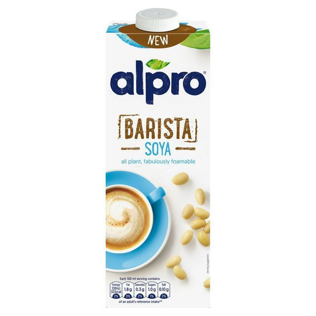 Alpro Barista Soya U.H.T. 1L 69p Each or 2 for £1 @ Fulton Foods