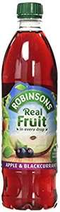 Robinsons Apple and Blackcurrant No Added Sugar, 1L - £1 Prime / £5.49 Non-Prime @ Amazon