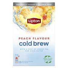 Lipton Cold Brew Teabags £1.90 w/code at Tesco