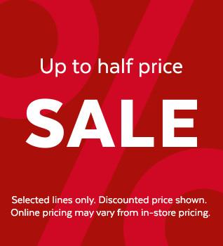 Up To 1/2 Price Womens and Childrens Sale @ Sainsbury's Tu Clothing