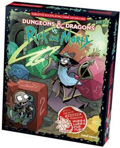 Dungeons & Dragons Vs Rick and Morty £21.77 @ Blackwell