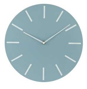 Argos Home Wall Clock - Grey £7.49 free click and collect at Argos