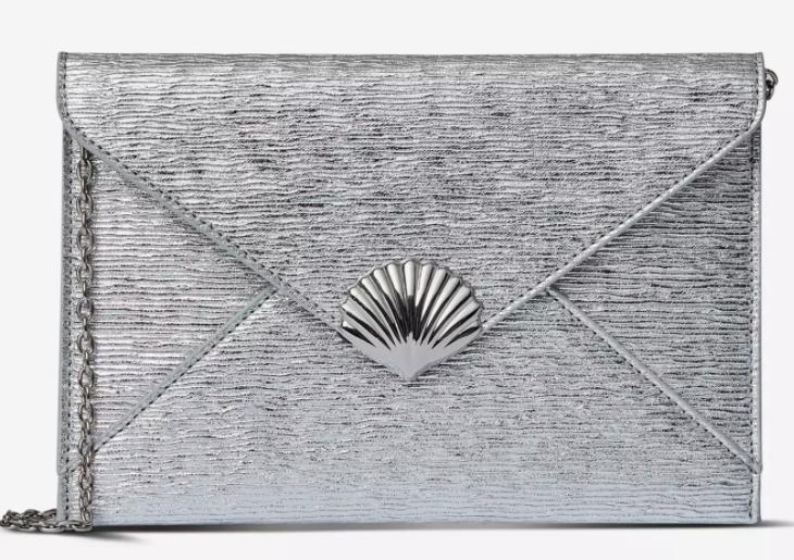 Dorothy Perkins Shell Clutch Bag - Silver OR Pink £2 @ Debenhams ( Online / Instore )