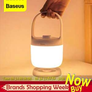 Baseus swivel 3000-6000K Rechargeable USB LED portable lamp for £18.86 delivered using coupon @ AliExpress Deals / Baseus Direct