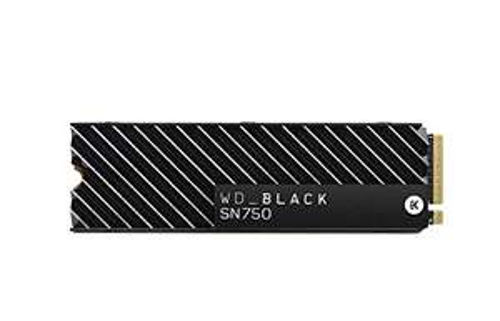 Western Digital_Black SN750 500 GB NVMe Internal Gaming SSD with Heatsink £79.99 Delivered   1 TB £154.99 @ Amazon