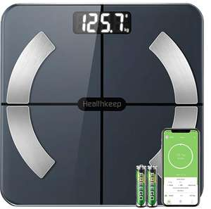 Bluetooth Body Fat Scales £16.51 prime / £21 non prime Dispatches from Amazon Sold by AWOW Digital