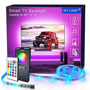 LED strip lights TV £13.59 (+£4.49 NP) @ Dispatches from Amazon Sold by SHINELINE