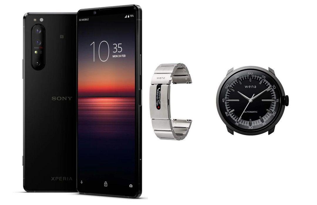 Sony Xperia 1 II Single SIM / Black / 256GB - 8GB RAM Smartphone + Sony WENA Wrist Pro Strap + WENA Wrist Mechanical Head - £1089.98 @ Clove
