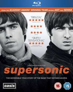 Oasis - Supersonic Blu-ray £3.99 @ zoom