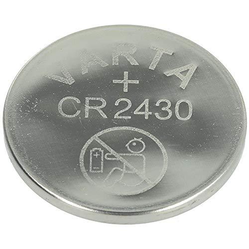 VARTA Batteries Electronics CR2430 Lithium button cell 3V battery 1-pack - 65p Prime (+£4.49 Non Prime) @ Amazon