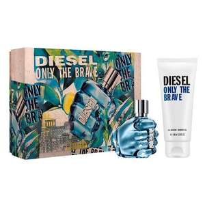 DIESEL Only The Brave Eau de Toilette Gift Set for him 50ml £24.29 delivered with code @ The Perfume Shop