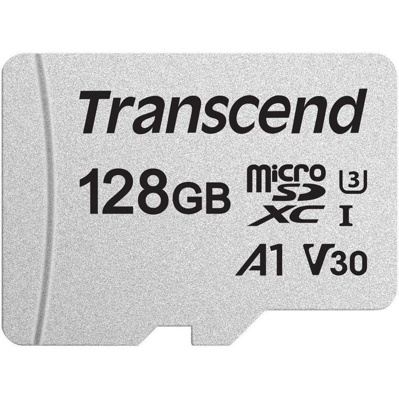 Transcend 128GB 300S V30 A1 Micro SD Card (SDXC) UHS-I U3 A1- 95/45MB/s R/W - 5 Yrs. Warranty £13.98 - @ MyMemory