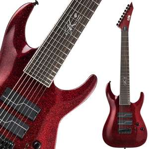 ESP LTD SC-608B Stephen Carpenter - 8 String Baritone Scale Electric Guitar - £899 Delivered @ GuitarGuitar