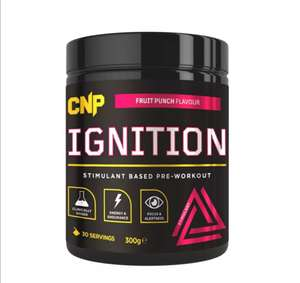 CNP Ignition High Stimulant Pre Workout 30 Servings £15.95 @ dolphin fitness (£1.95 delivery)