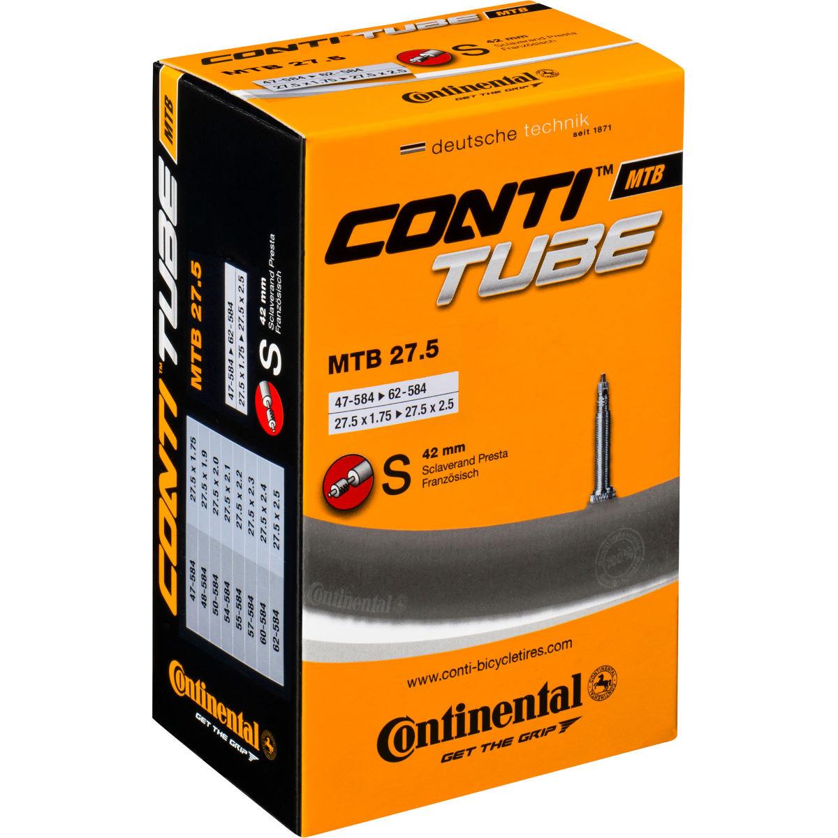 """Continental 27.5"""" MTB Inner tube Presta - £6.99 delivered / Schrader £8.98 delivered @ Wiggle"""