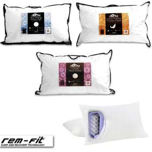 Anti-Allergy Pillow Pair £19.99 / Goose Feather & Down Single £24.99 / Hybrid Pocket Sprung Single £24.99 Delivered Using Codes @ Rem-Fit