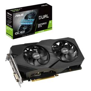 ASUS GTX 1660 SUPER DUAL OC 6G Graphics Card £220.99 (or £205.99 delivered after Cashback) @ Overclockers (£9.90 P&P)