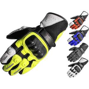 Agrius Ambush Short Leather Motorcycle Gloves £14.99 Delivered at Ghostbikes