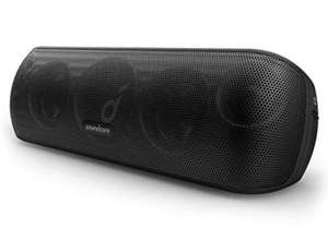 Soundcore Motion+ Bluetooth Speaker with Hi-Res 30W Audio, Extended Bass, Black/Blue/Red - £69.99 Sold by Anker Direct & Fulfilled By Amazon