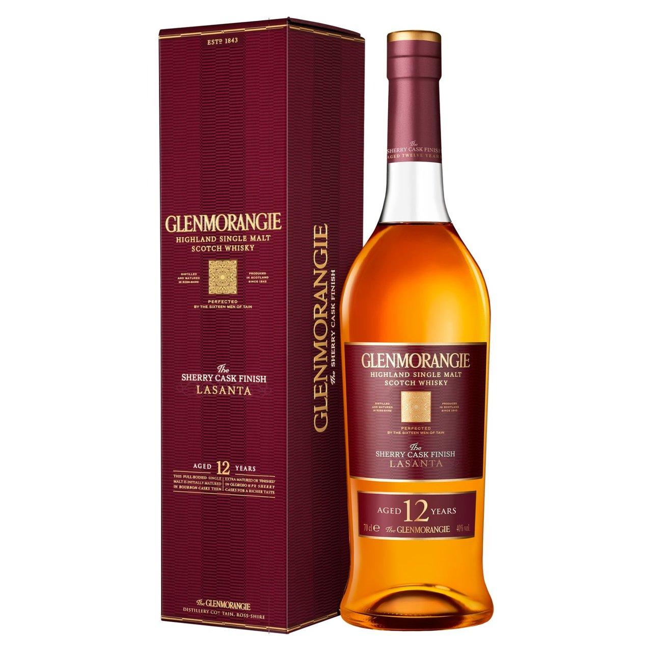 Glenmorangie Lasanta Single Malt Scotch Whisky70cl - £37 @ Ocado