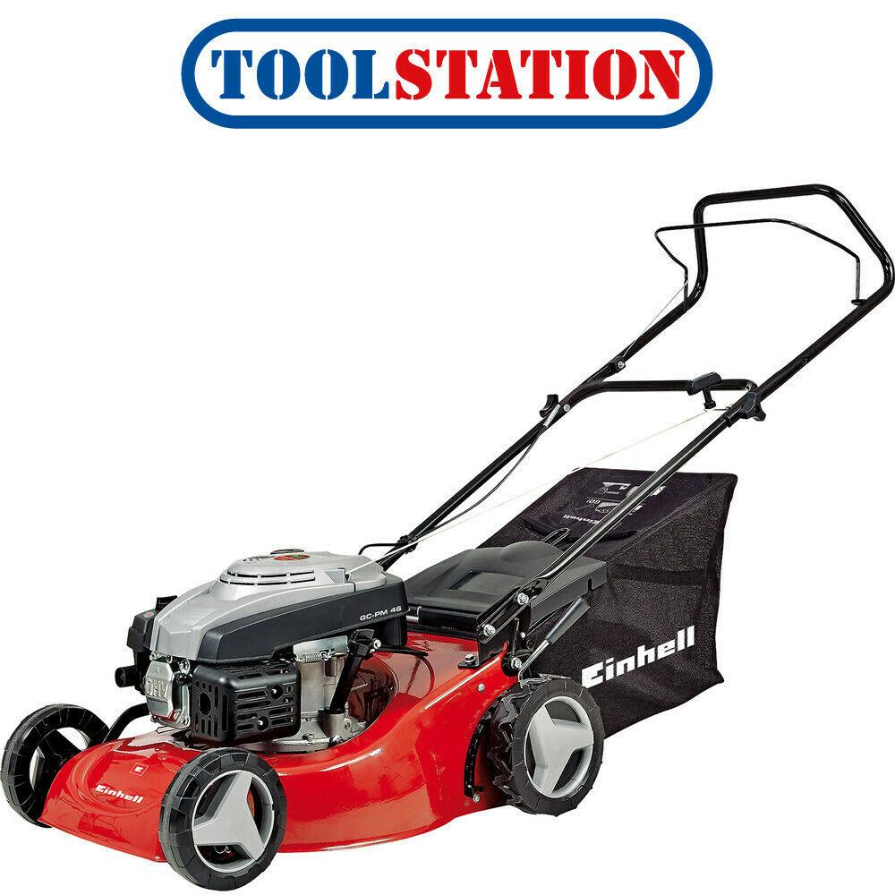 Einhell 139cc 46cm Petrol Lawnmower GC PM46 - £142.98 delivered @ Toolstation / eBay