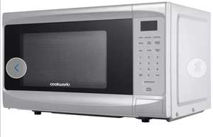Cookworks 800W Microwave with Grill D80H - Silver - £59.99 + Free Click and Collect @ Argos