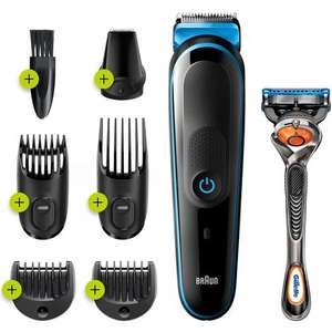 Braun 7in1 Beard Trimmer and Hair Clipper Kit MGK3245 with Gillette Fusion 5 ProGlide Razor - £22.99 delivered @ MyMemory