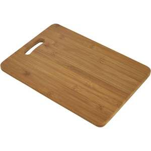 Wilko - Large Bamboo Chopping Board - £3.75 instore & online (£2 Click and Collect)
