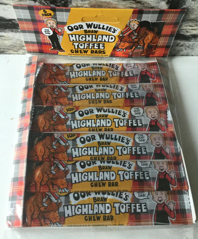 Oor Wullie's Braw Highland Toffee Chew Bar 6 x 11g, 39p In Store @ Home Bargains (Strathkelvin Retail Park, Bishopbriggs)