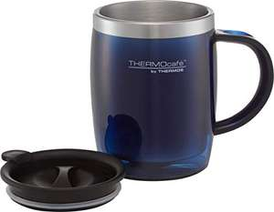 Thermos ThermoCafé Translucent Desk Mug (Midnight Blue or Duck Egg), 450 ml £5.33 (+£4.49 NP) Delivered @ Amazon