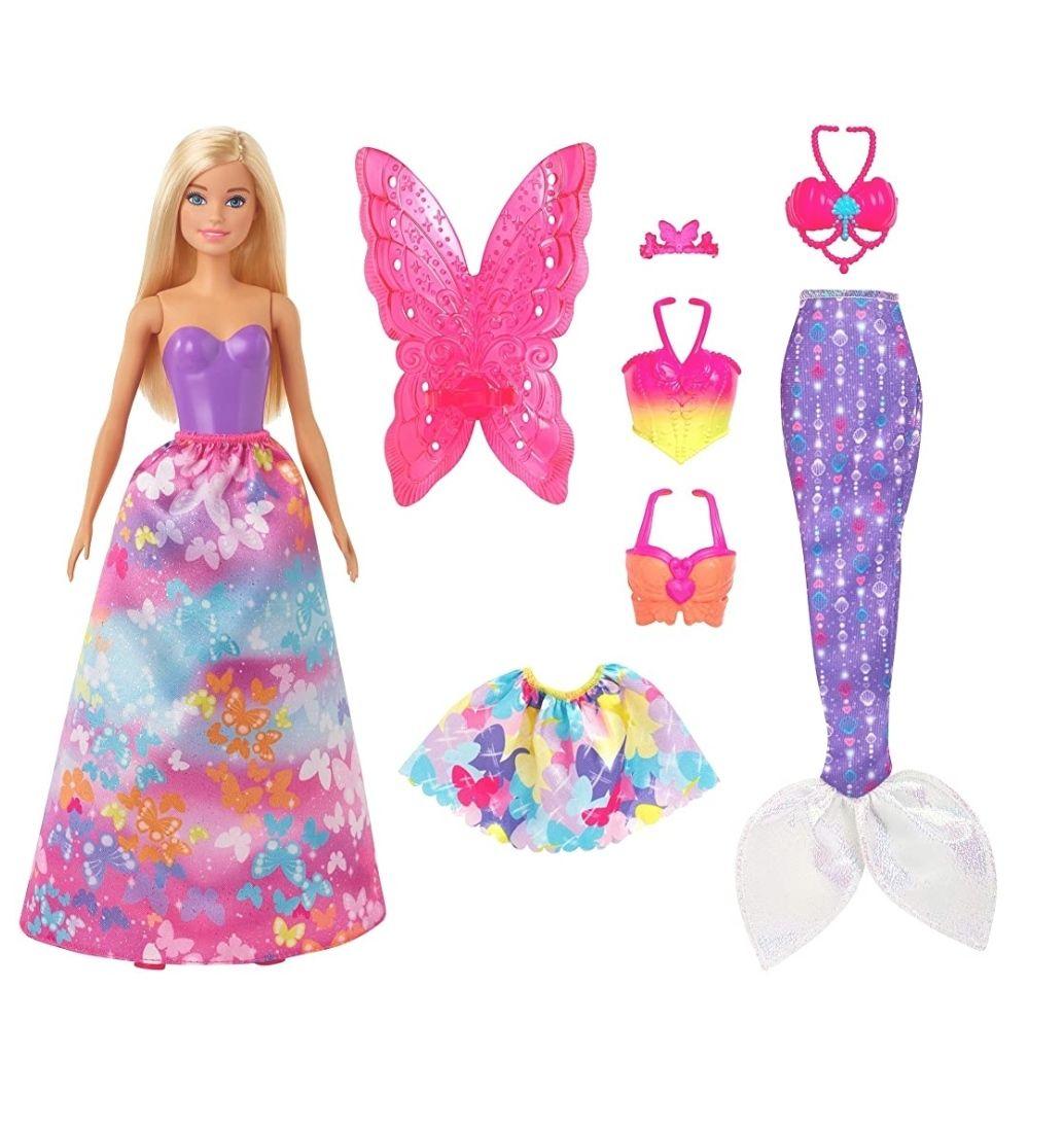 Barbie Dreamtopia Dress Up Gift Set at Amazon for £11.39 Prime (+£3.49 non Prime)