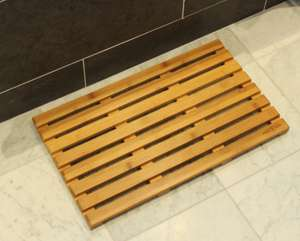 Bamboo Duckboard Bath Mat £9.99 delivered (using code)