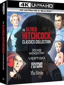 The Alfred Hitchcock Classics Collection (4K UHD) [Blu-ray] [2020]