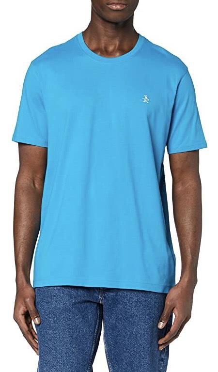 Original Penguin Men's Pinpoint T-Shirt (Blue, XS) at Amazon for £4.93 Prime (+£1.99 non Prime)