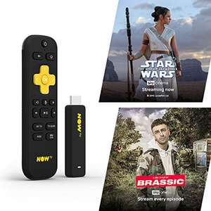NOW TV Smart Stick with 1 month Entertainment Pass and 1 month Sky Cinema Pass £24.85 @ Amazon