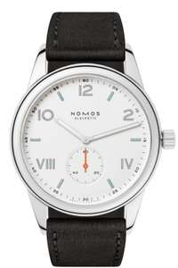 Nomos club 735 watch £960 @ Berry's Jewellers. (Sapphire case back also in post)