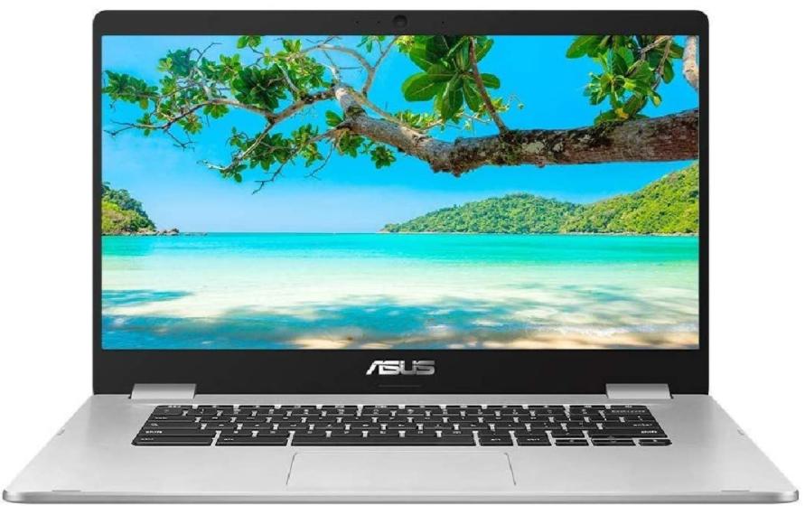 "ASUS Touchscreen Chromebook C523, Intel Pentium Processor, 4GB RAM, 64GB eMMC, 15.6"" Full HD, Silver Metal - £279.99 @ John Lewis & Partners"