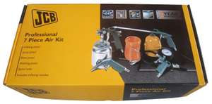 JCB 7 Piece Air compressor accessory kit - Clearance- In Swindon Store- Reduced further to £10 @ B&Q
