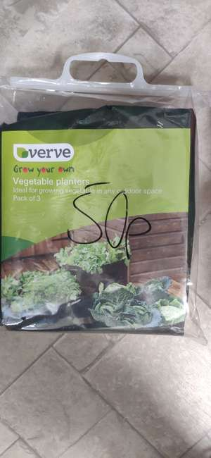 Verve planter and various fertilisers - 50p in-store at B&Q (Warrington)