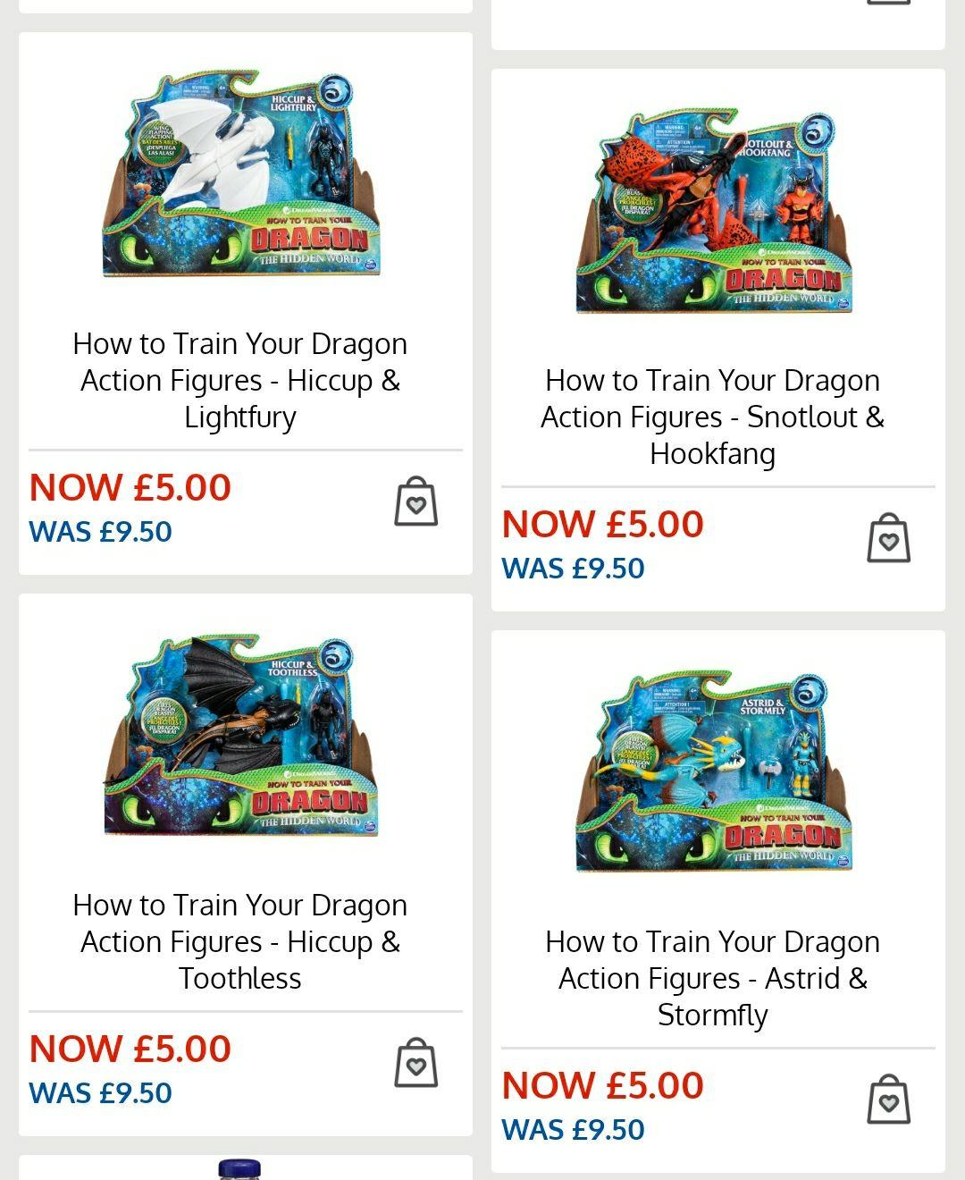 How to train a dragon - £5 Instore @ B&M (Newbery Park, London)