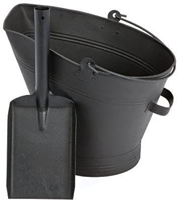 Coal Bucket & Shovel - Waterloo Style - £11.97 & £2.99 P&P. Sold and Shipped by Denny Shop via Amazon