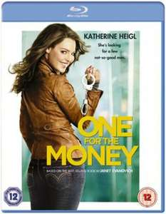 One for the money blu ray new delivered £2.19 @ music magpie