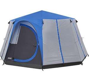 Coleman Tent Octagon, 3 to 6 Man Festival Dome Tent, Family Camping Tent with 360° Panoramic View - £189.99 @ Amazon