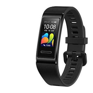 HUAWEI Band 4 Pro - Smart Band Fitness Tracker with 0.95 Inch AMOLED Touchscreen, 24/7 Heart Rate Monitor - Black/Pink/Red - £29.99 @ Amazon
